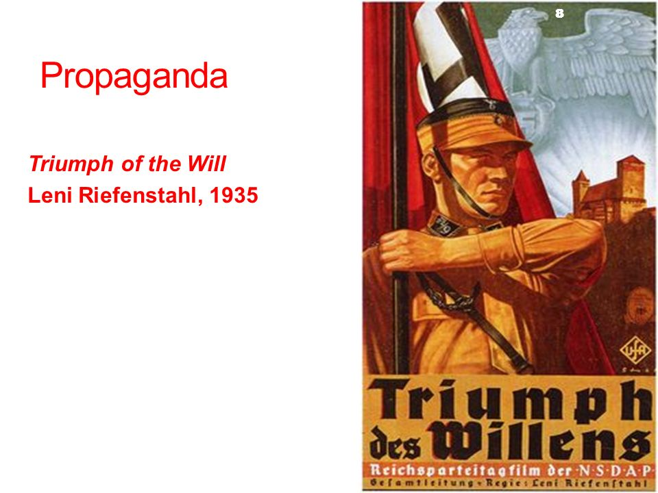 Propaganda Triumph of the Will Leni Riefenstahl, 1935