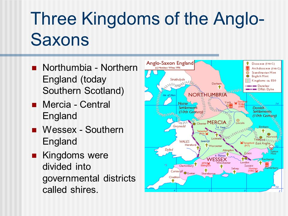 Three Kingdoms of the Anglo-Saxons