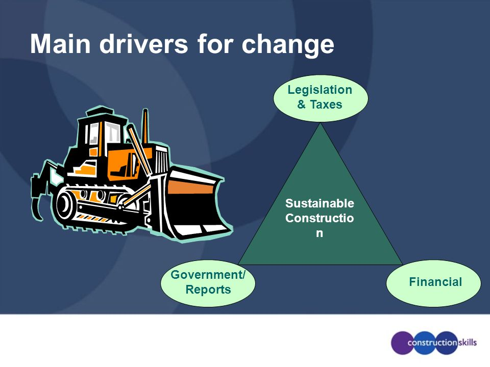 Main drivers for change