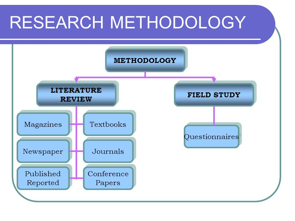 the literature review in research