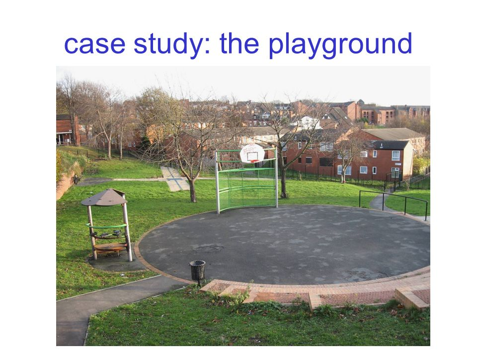 case study: the playground