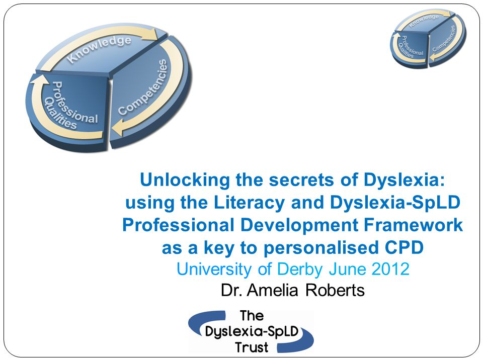 The Dyslexia-SpLD Trust Professional Development Framework