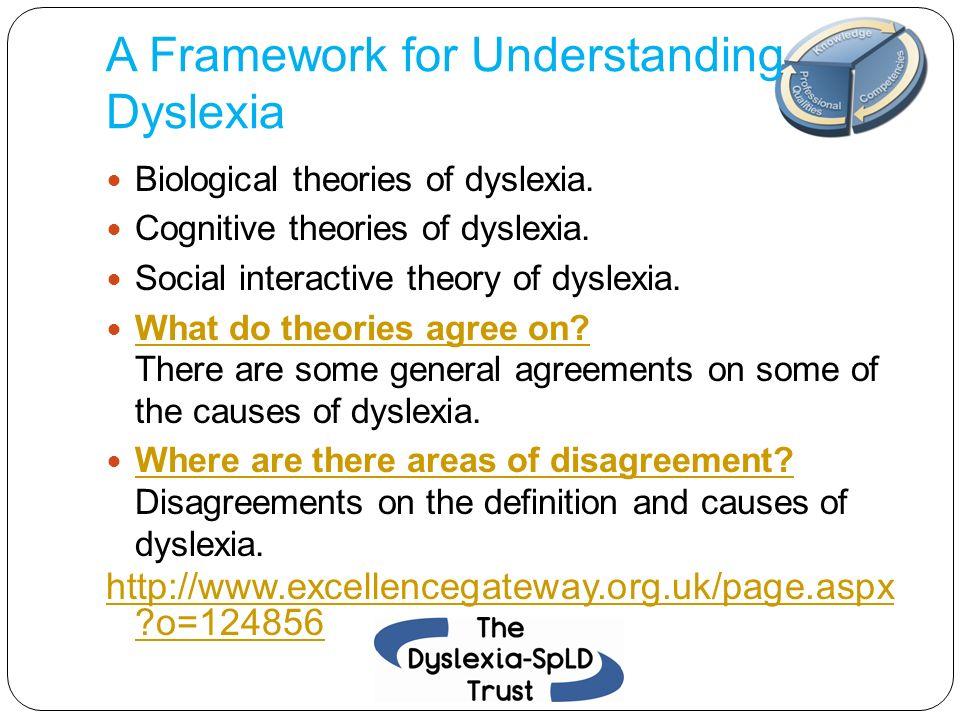 A Framework for Understanding Dyslexia
