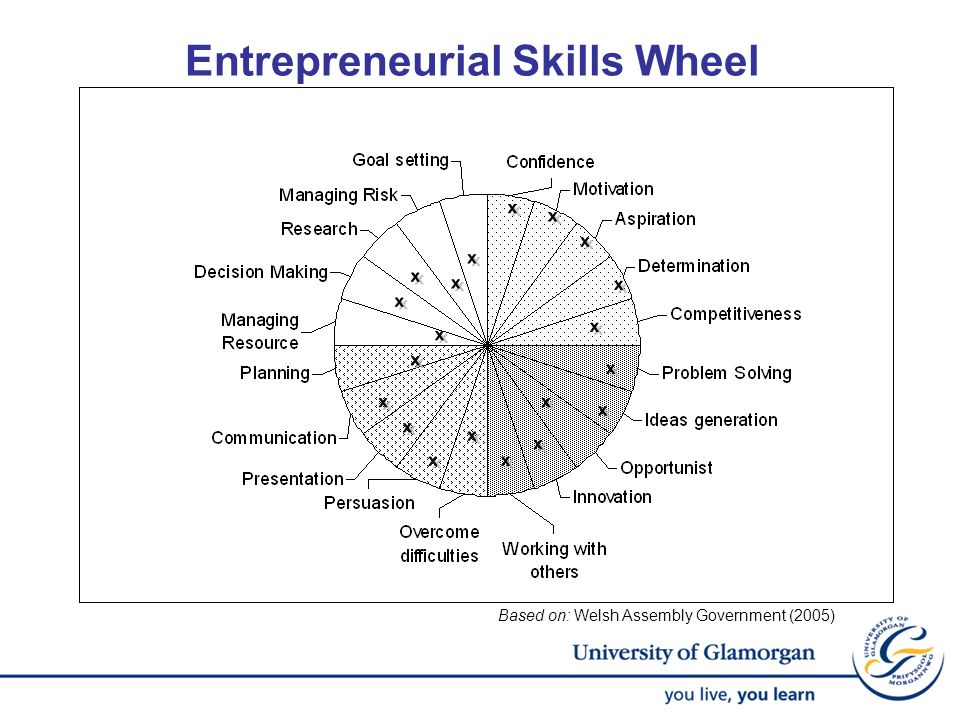 Entrepreneurial Skills Wheel