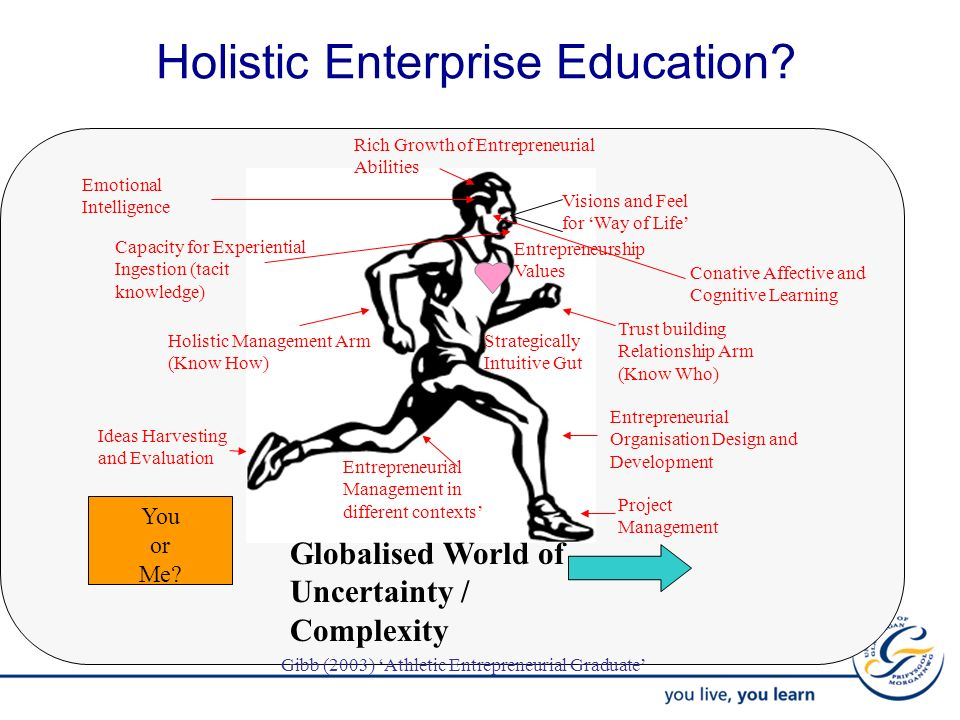 Holistic Enterprise Education