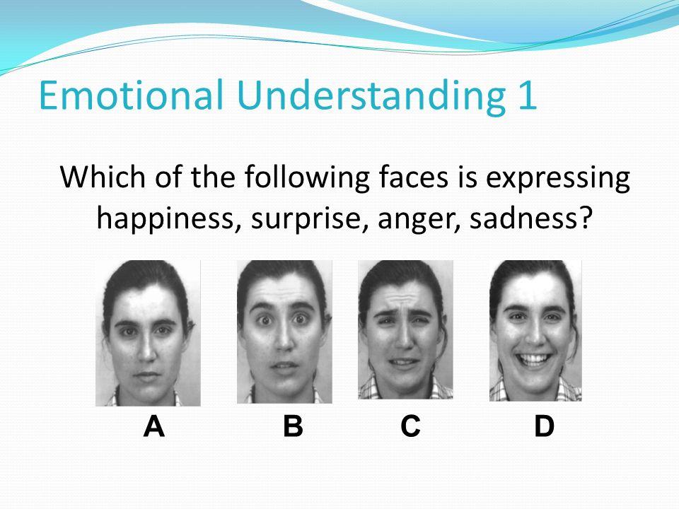 Emotional Understanding 1