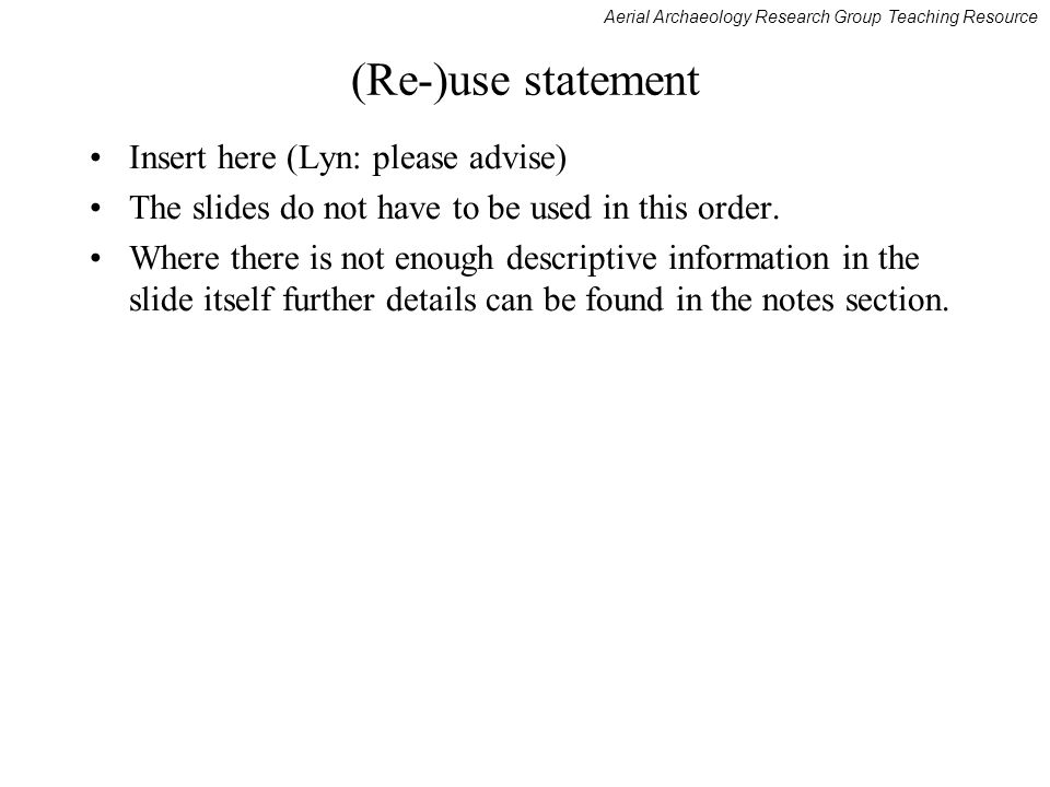 (Re-)use statement Insert here (Lyn: please advise)