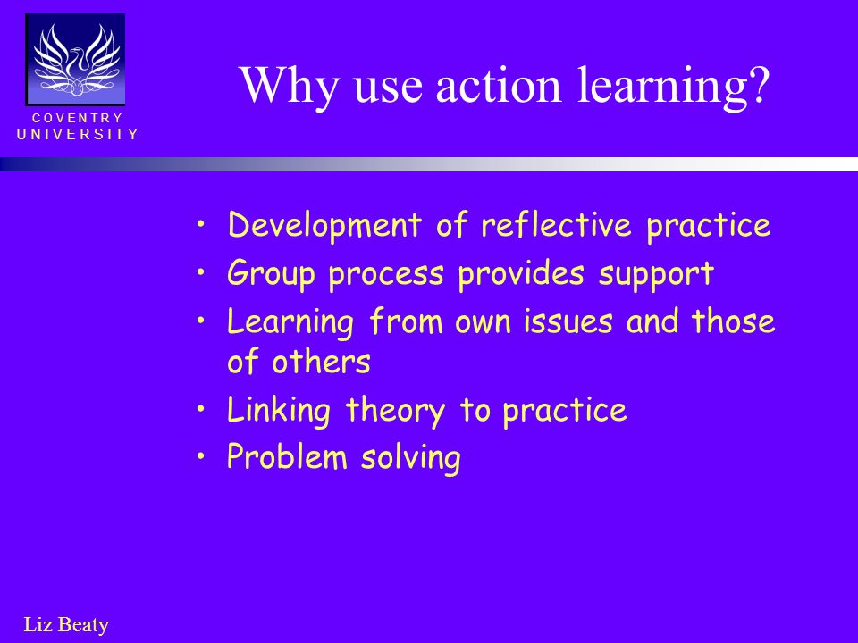 Why use action learning