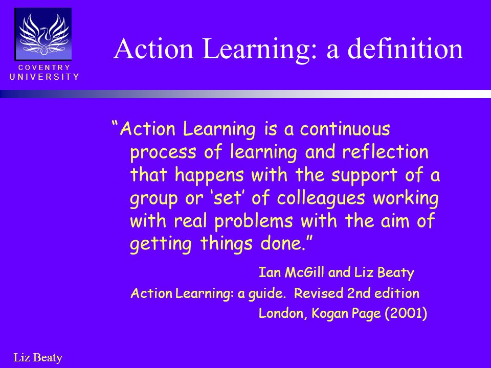 Action Learning: a definition