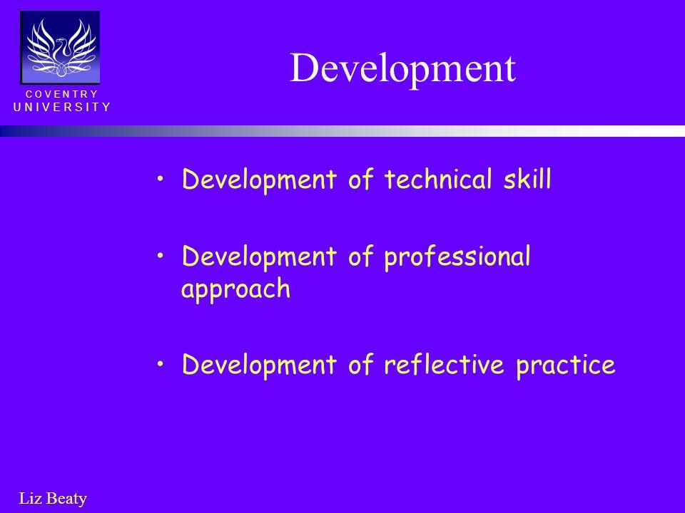 Development Development of technical skill