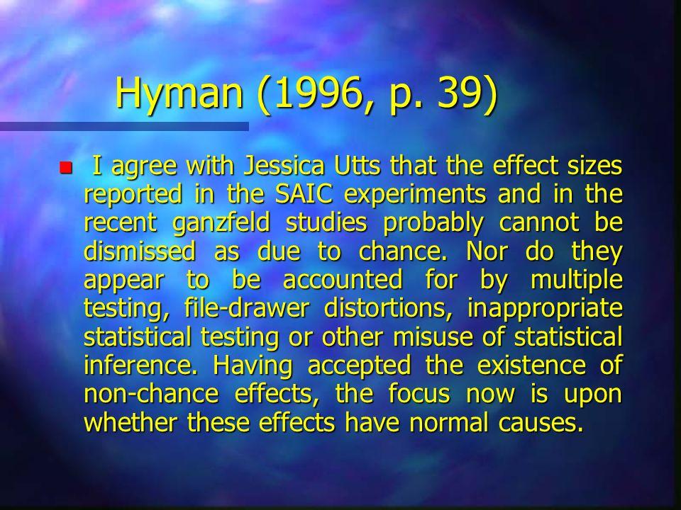 Hyman (1996, p. 39)