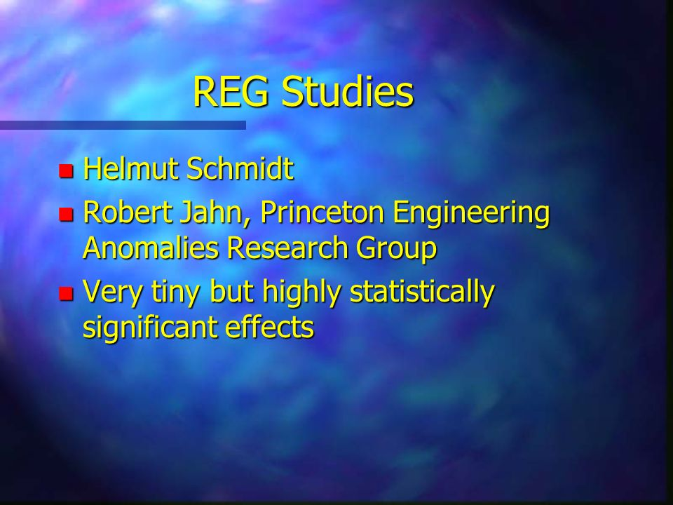 REG Studies Helmut Schmidt