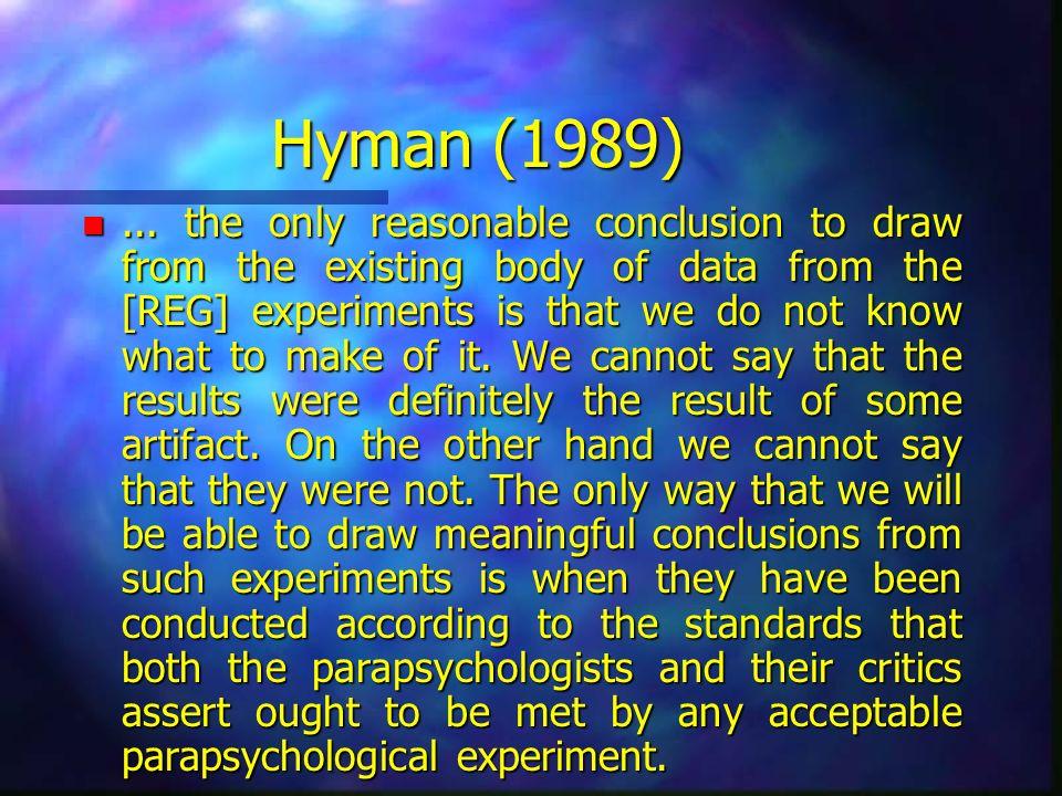 Hyman (1989)