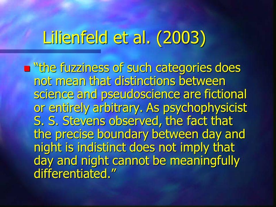 Lilienfeld et al. (2003)