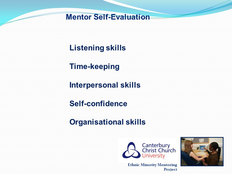 Mentor Self-Evaluation