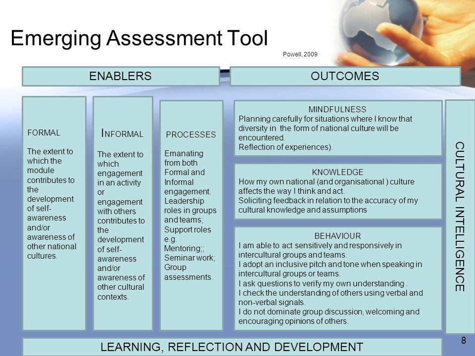 Emerging Assessment Tool