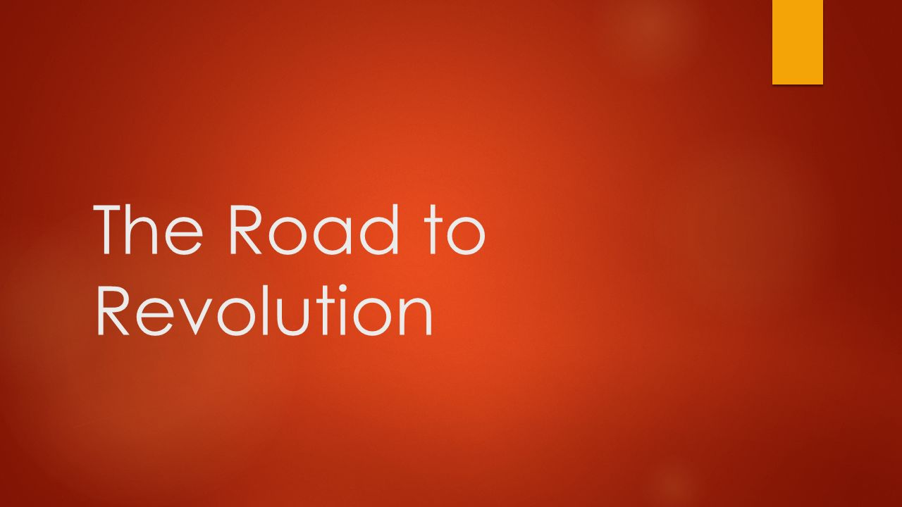 the road to revolution Documentary road to revolution follows the journey of three portuguese  journalists who travel through tunisia, syria, egypt and libya, two years after the  uprising that.