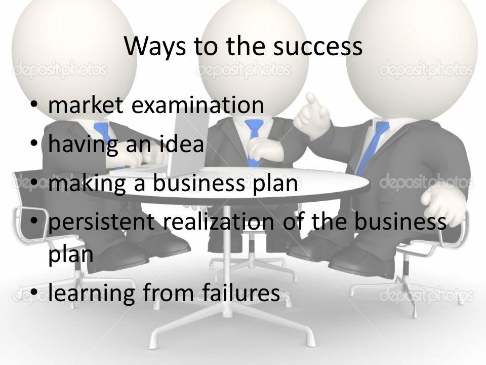 Ways to the success market examination having an idea