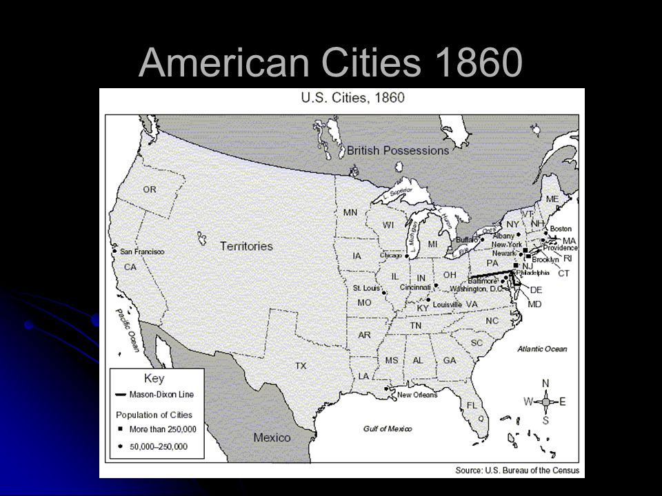 the growth of cities in after the american civil war After the civil war, americans chose to consume alcohol and tobacco in sufficient quantities to help pay down the debt each year for most of the rest of the century american industry recovered under such limited government, and the civil war generation paved the way for economic greatness.