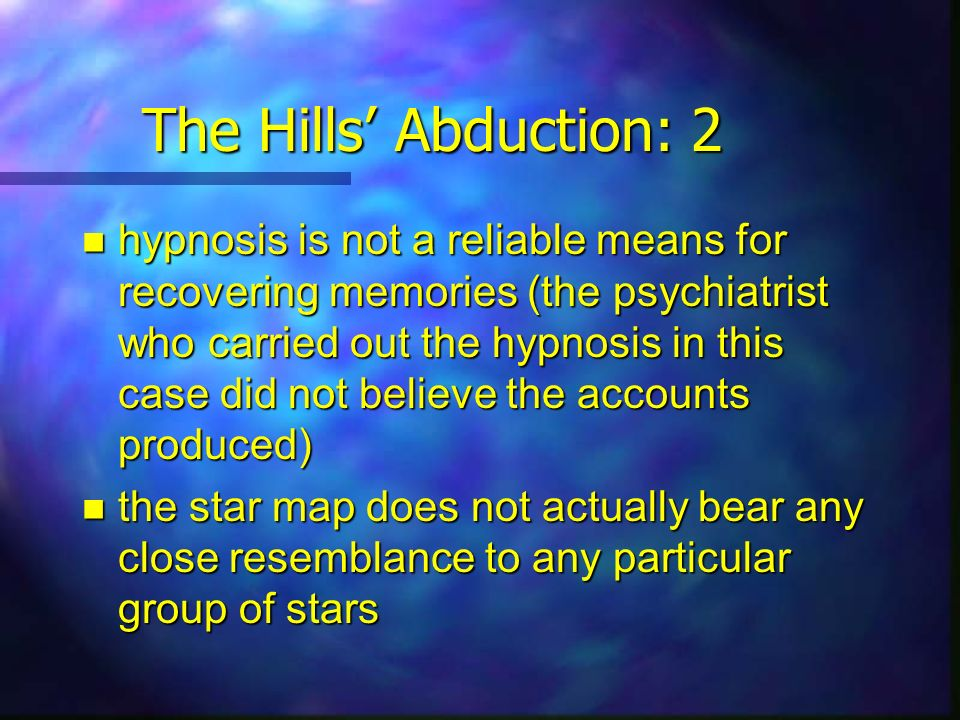 The Hills' Abduction: 2