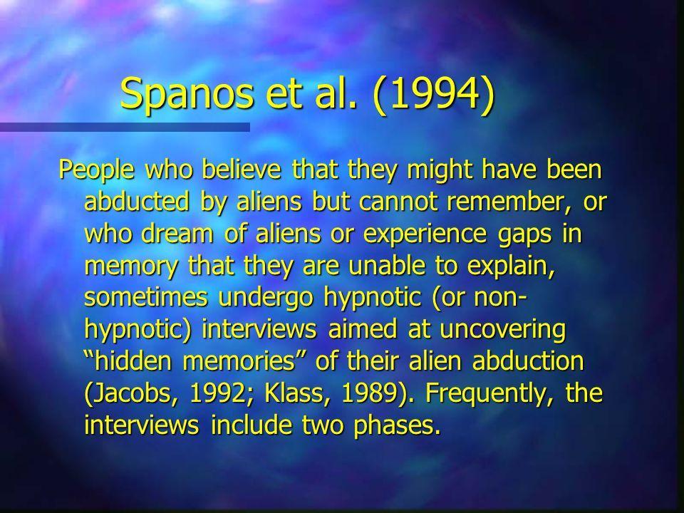 Spanos et al. (1994)