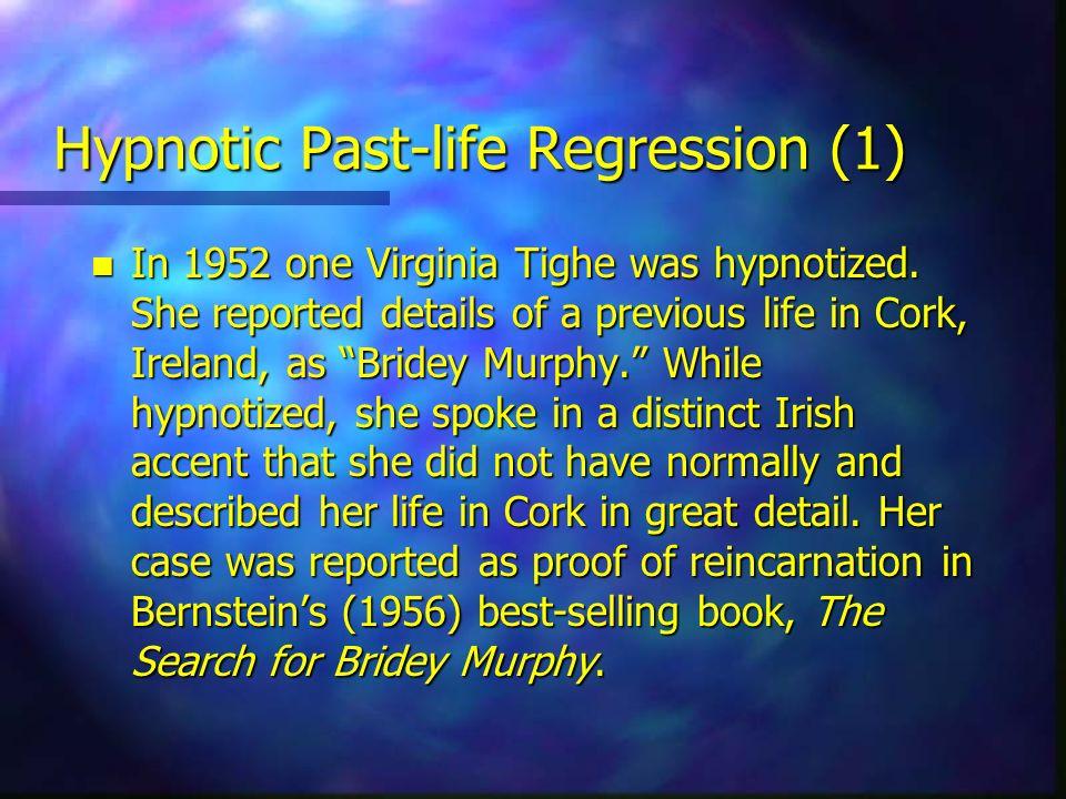 Hypnotic Past-life Regression (1)