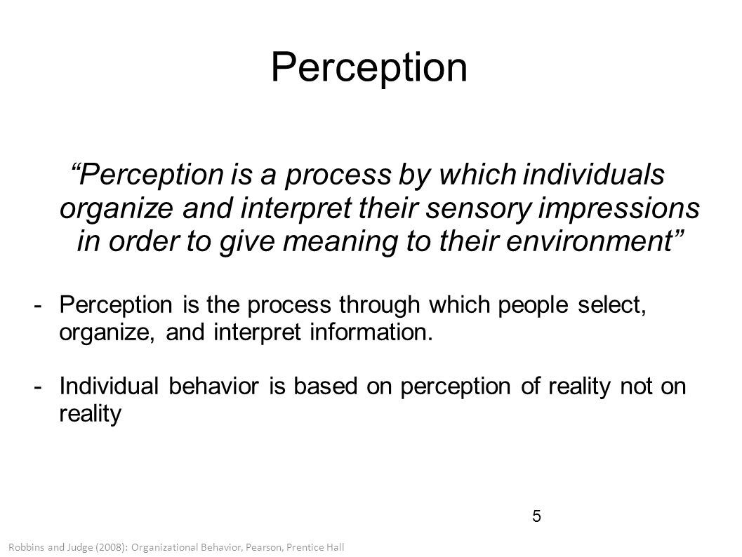 Organizational Behavior: Decision Making