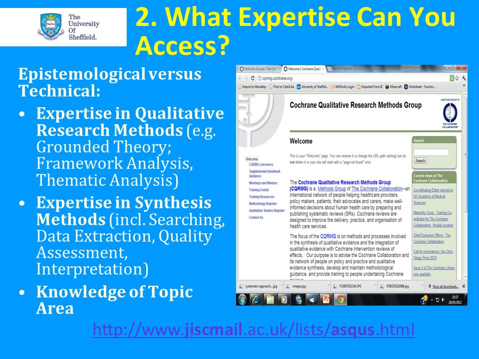 2. What Expertise Can You Access