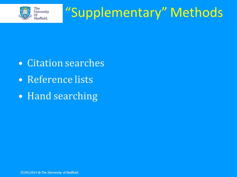 Supplementary Methods