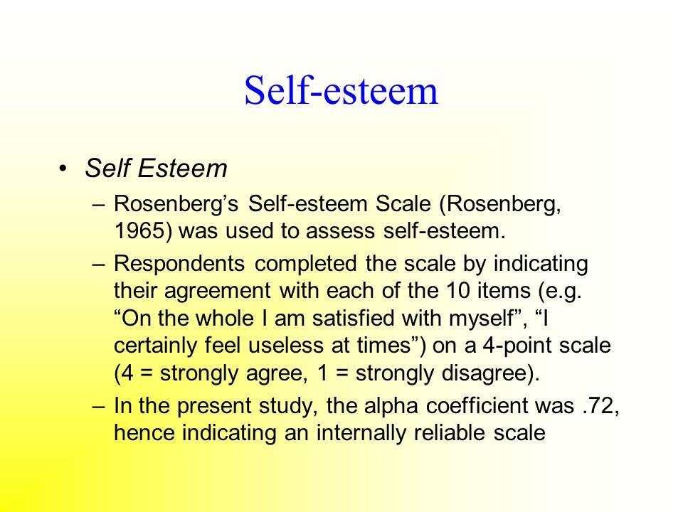 Self-esteem Self Esteem