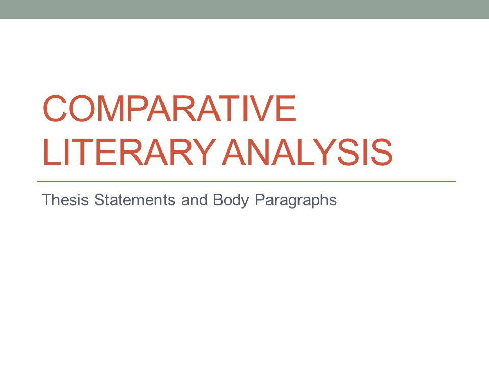 phd thesis on comparative literature The department of comparative literature offers the degree of doctor of an overview of the main selects a committee of advisers to direct the dissertation.