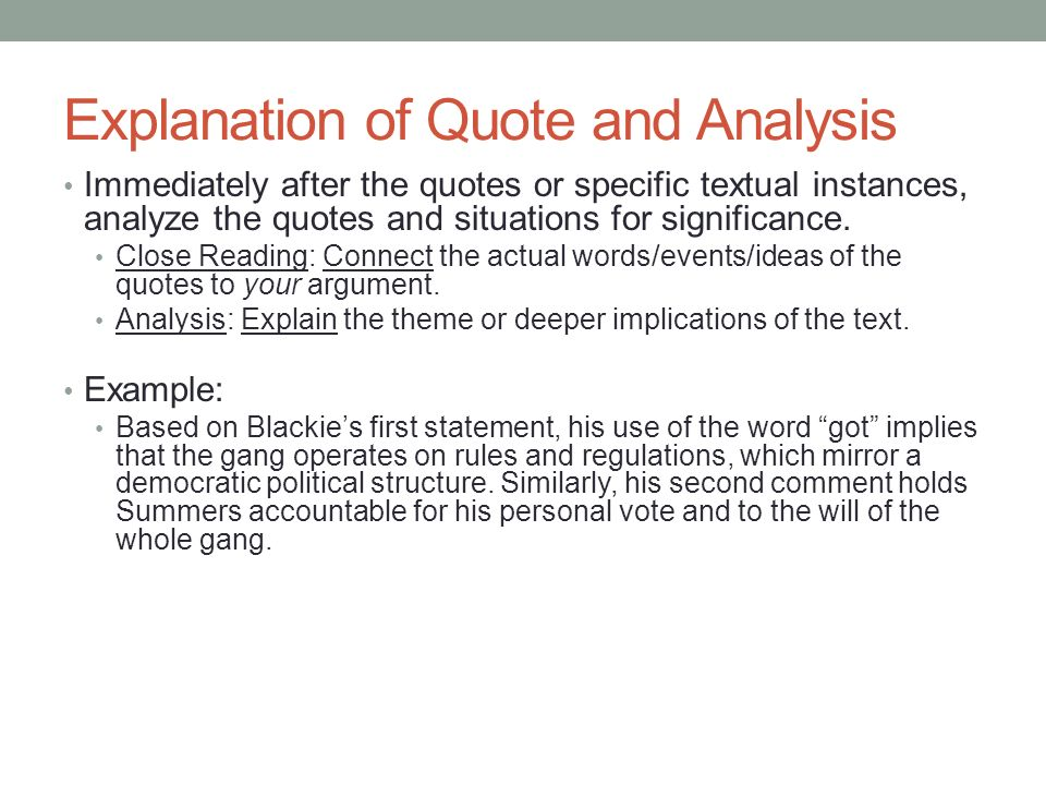 in literary analysis quotes in literary analysis