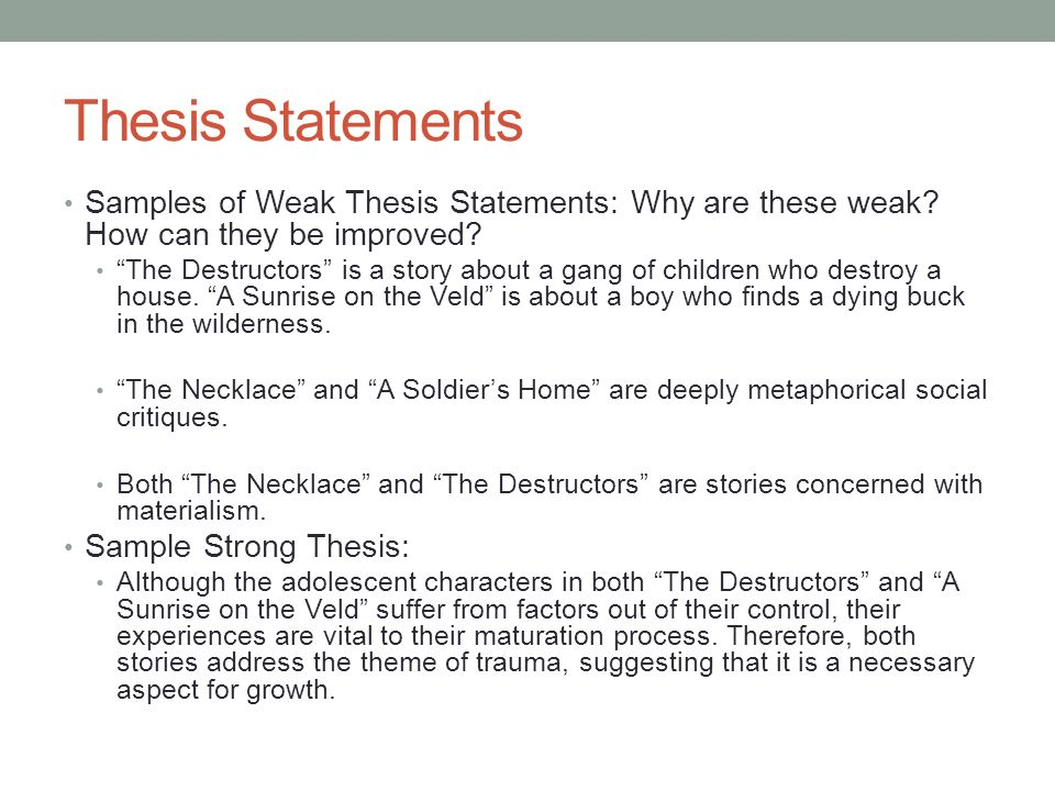 the destructors theme essay The destructors study guide from litcharts in-depth summary and analysis of every part of the destructors visual theme both wrote poetry and critical essays.