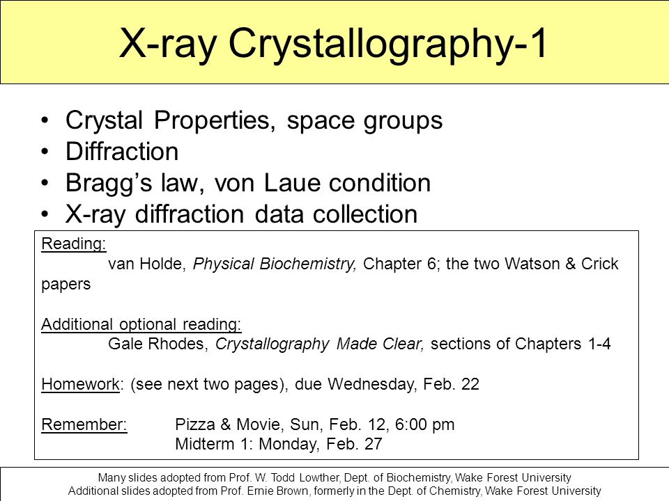 reports and essays on x-ray diffraction and crystallography X-ray crystallography is a technique that uses x-ray diffraction patterns to  here  the authors report the crystal structure of arabidopsis sdn1 in complex with a.