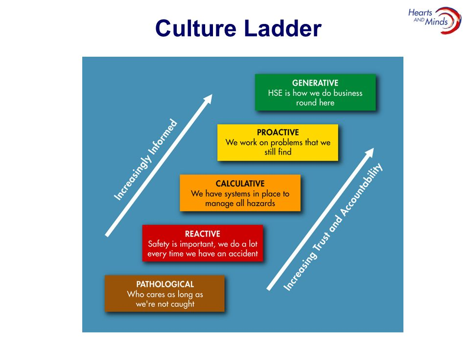 Culture Ladder Safety Culture Ladder