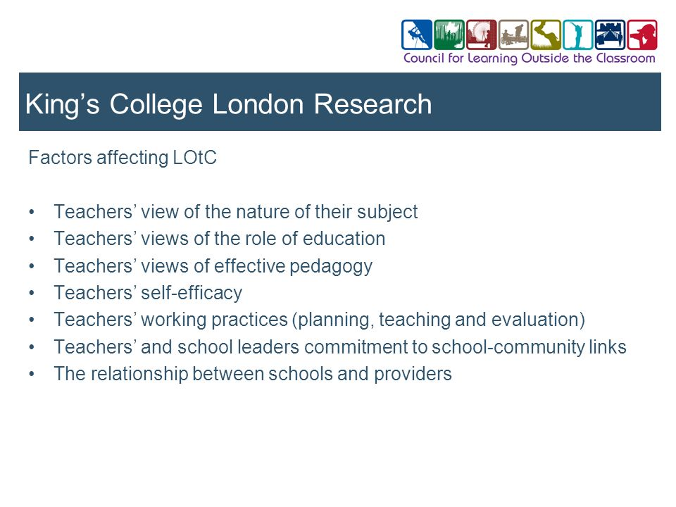 King's College London Research