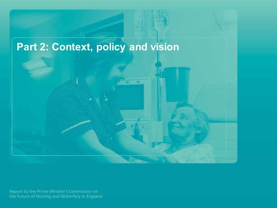 Part 2: Context, policy and vision