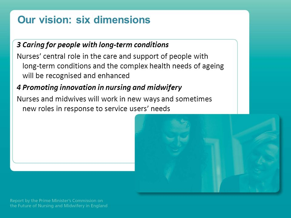 Our vision: six dimensions