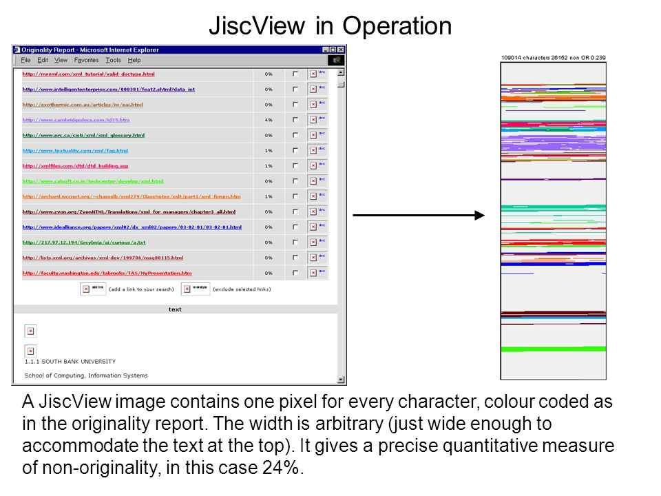JiscView in Operation