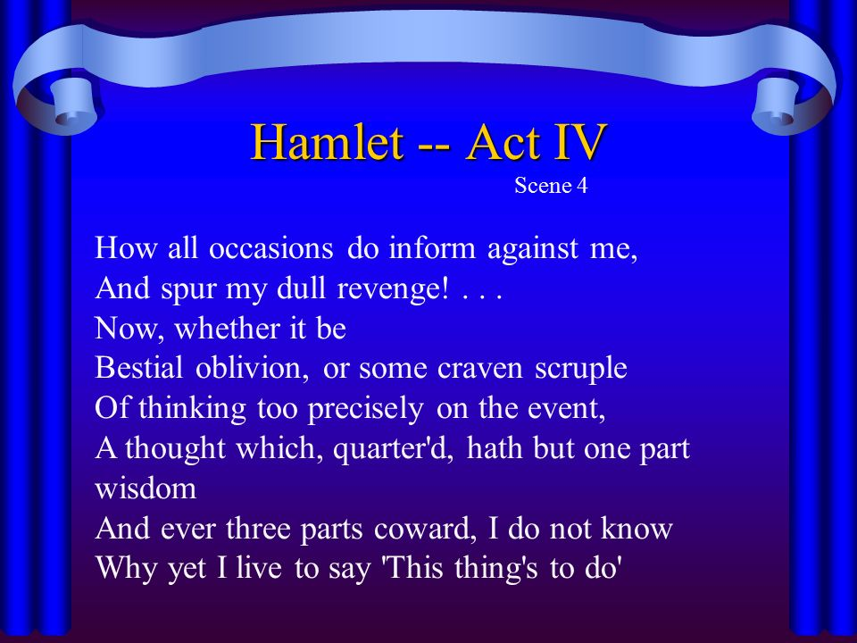 do hamlet and fortinbras meet in iv