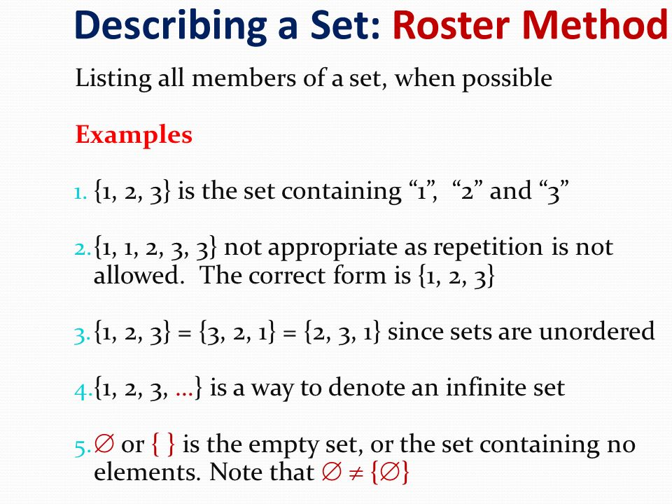 What Is the Roster Method?