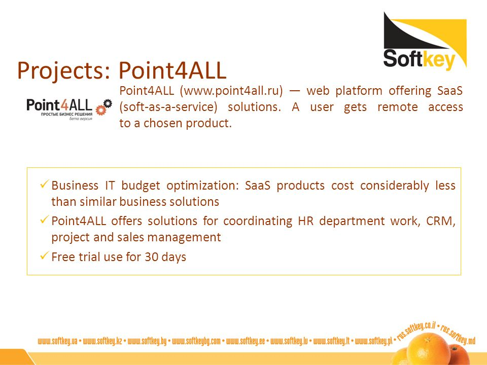 Projects: Point4ALL