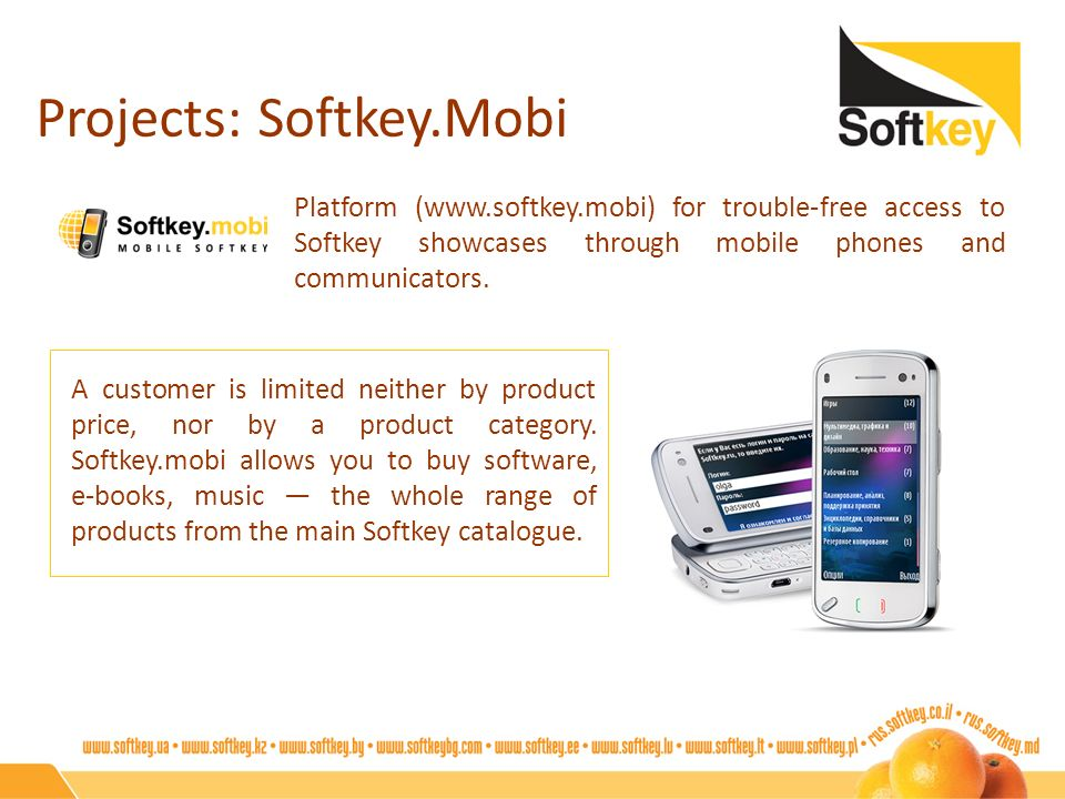 Projects: Softkey.Mobi