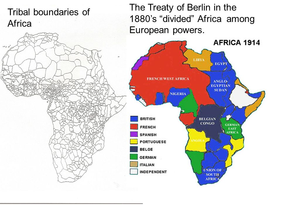 The Berlin Conference Ppt Video Online Download - Map of divided berlin