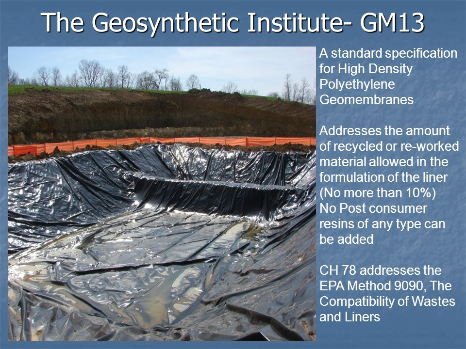 The Geosynthetic Institute- GM13