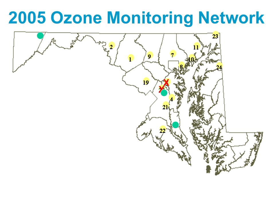 2005 Ozone Monitoring Network
