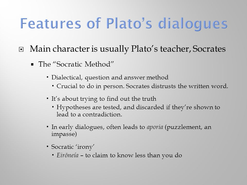 a definition of virtue in meno a socratic dialogue by plato Meno 988 likes meno is a socratic dialogue written by plato it appears to attempt to determine the definition of virtue, or arete, meaning virtue in.