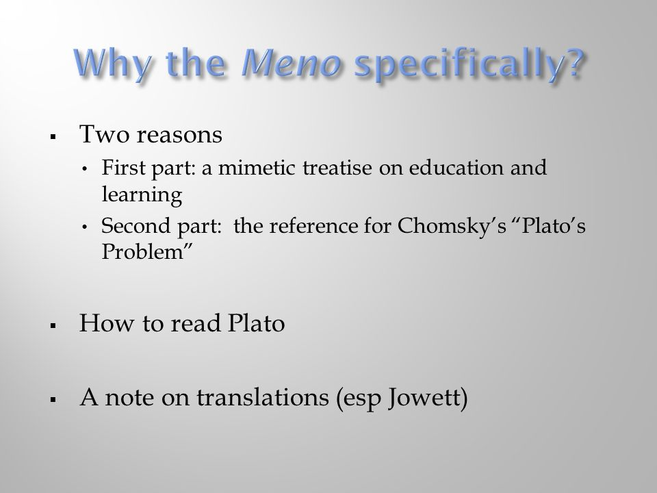 the theme of virtue in meno a dialogue by plato Meno's theme is also dealt with in the dialogue protagoras, where plato ultimately has socrates arrive at the opposite conclusion, that virtue can be taught and, whereas in protagoras knowledge is uncompromisingly this-worldly, in meno the theory of recollection points to a link between knowledge and eternal truths.
