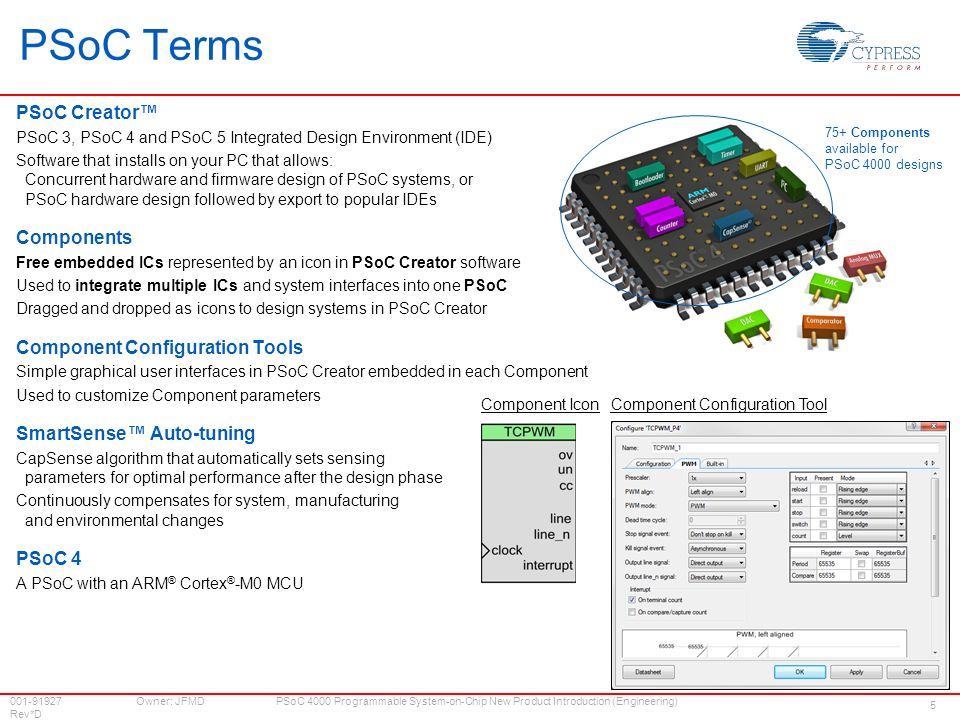 psoc® 4000 new product introduction psoc = programmable system on psoc development kit  psoc 4 pioneer kit