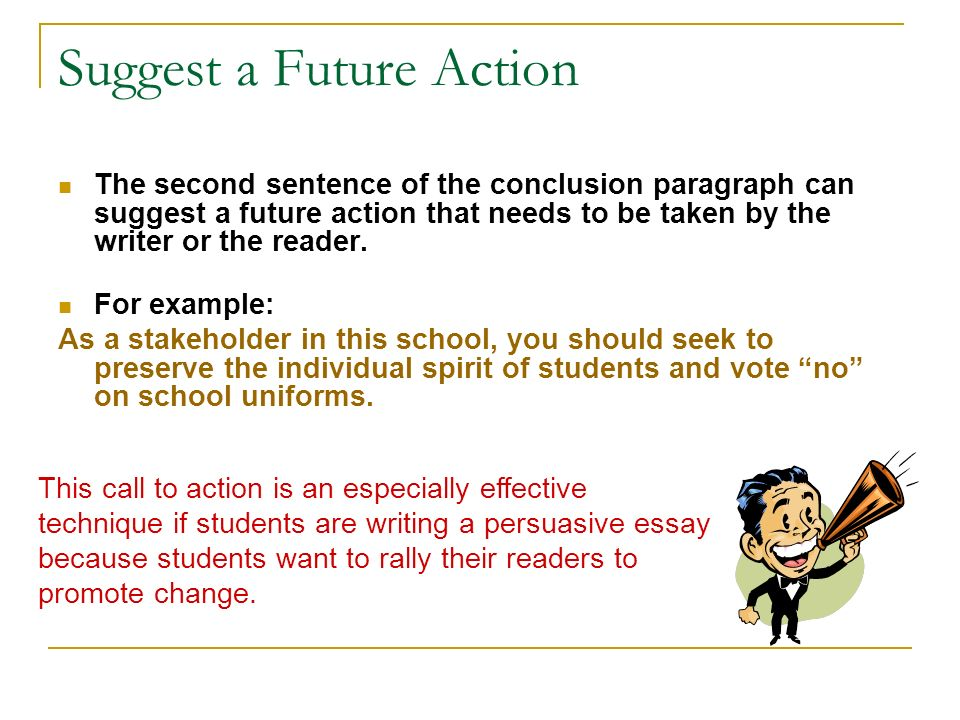 call to action examples persuasive essay